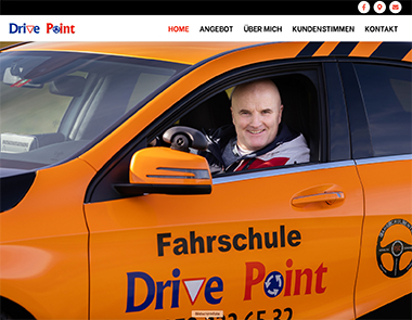 Internetauftritt drive-point.ch